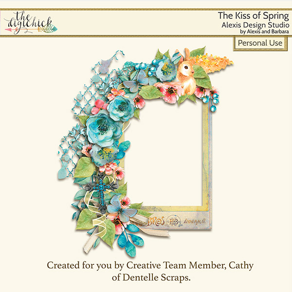 Last call on The Kiss of Spring Kit, gift!