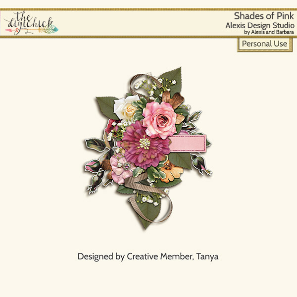 Attic Treasures – Love, Courage & Strength AND Shades of Pink PLUS Free Gift